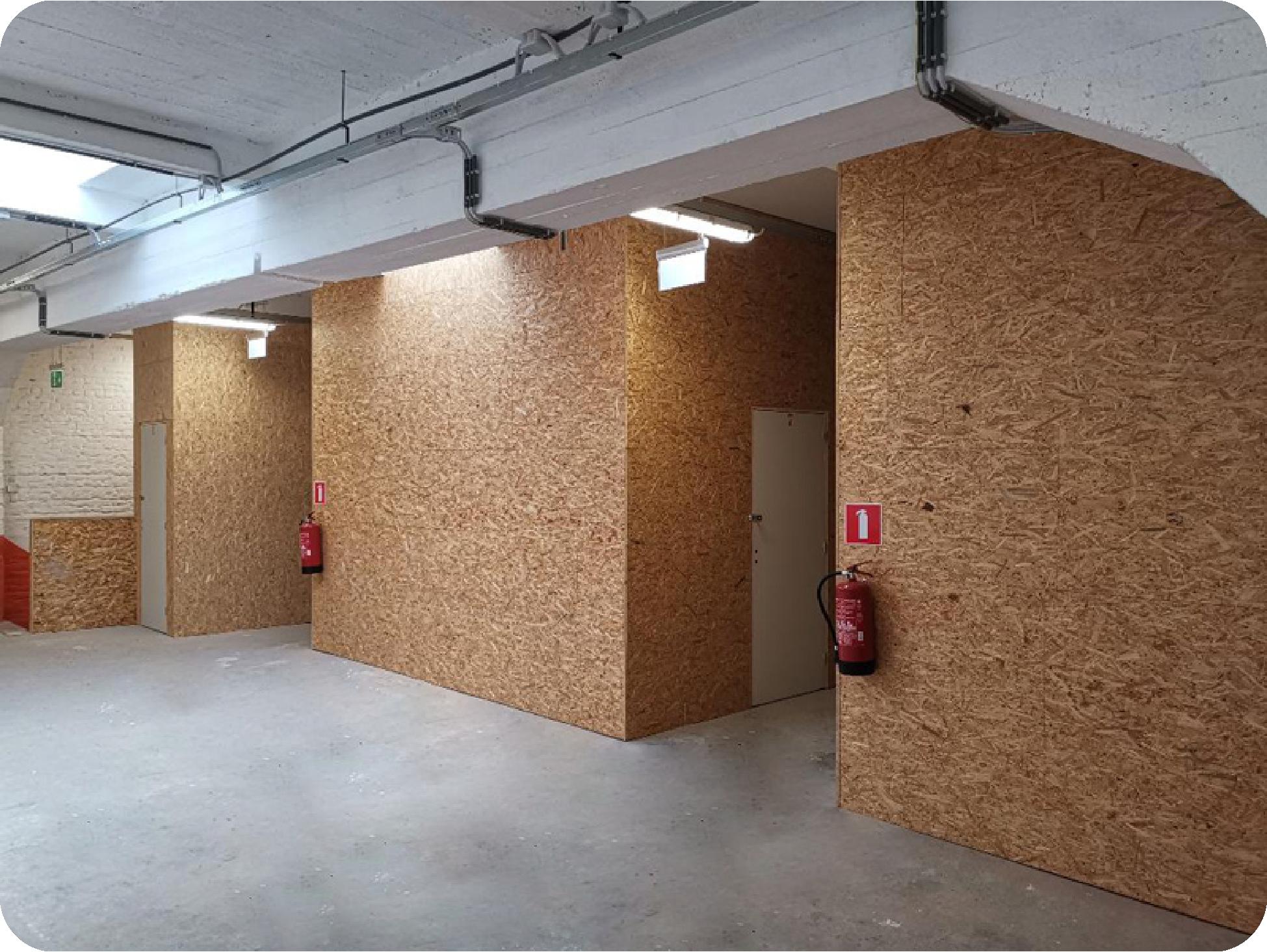 Locaux de Parkn'Box espace de stockage en plein centre ville de Bruxelles